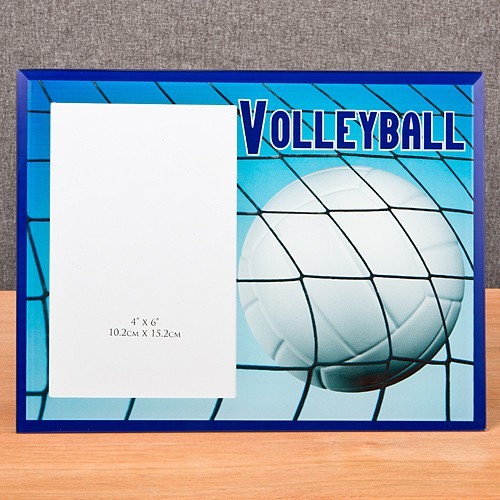 Volleyball Themed Frames - Wedding Party Favors and Supplies