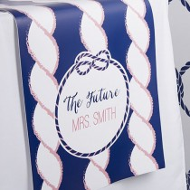 Personalized Table Runner - Nautical Bridal Collection (Multiple Sizes Available)